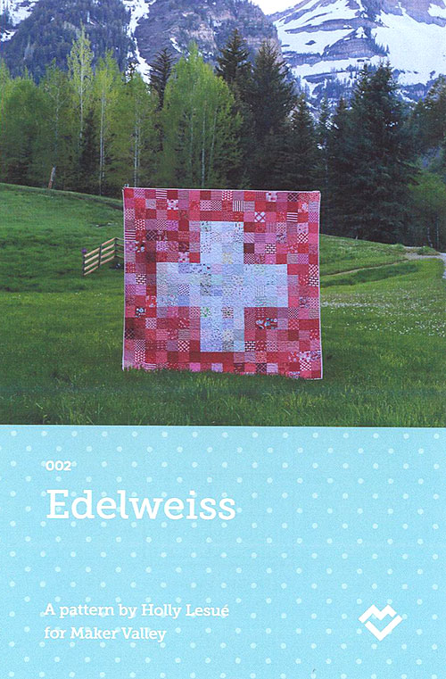 Edelweiss - Quilt Pattern by Holly Lesué