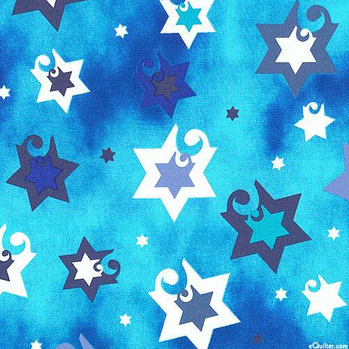 Jubilant Stars - Judaism - Turquoise