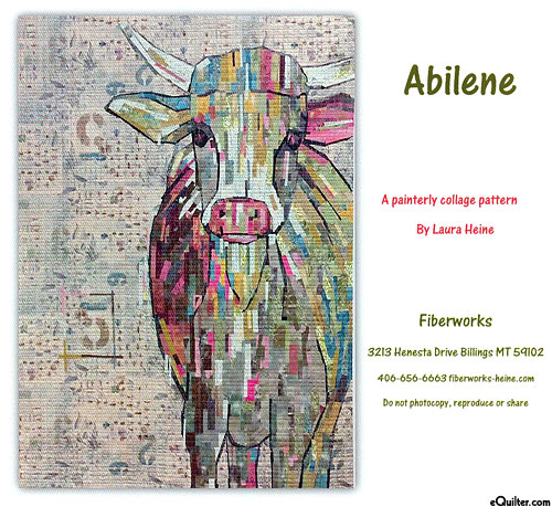 Abilene - Fusible Collage Pattern by Laura Heine