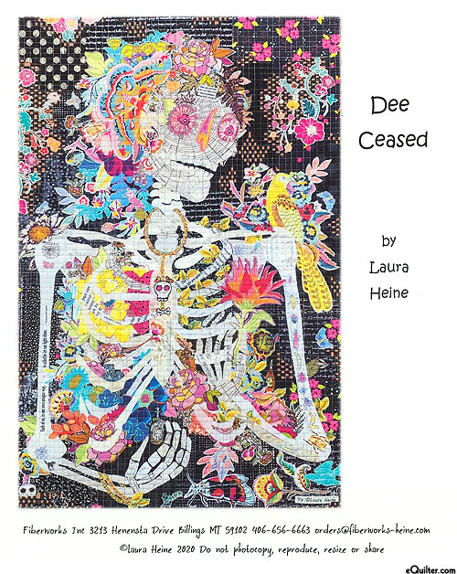 Dee Ceased - Fusible Collage Pattern by Laura Heine