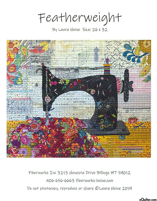 Featherweight - Fusible Collage Pattern by Laura Heine