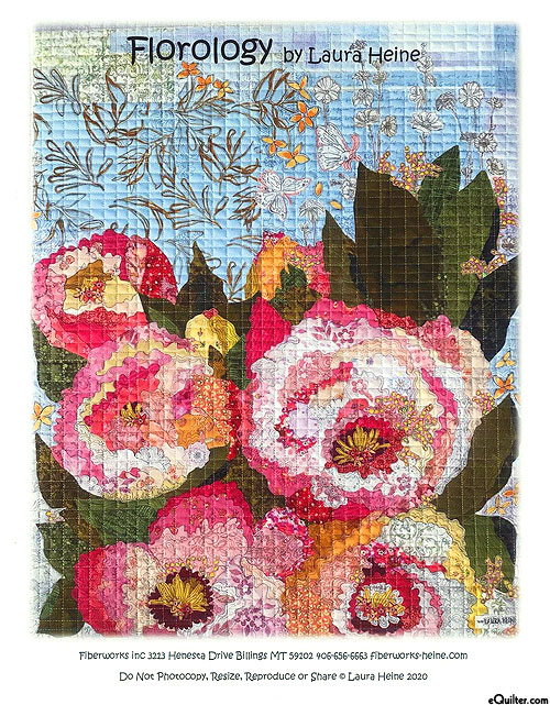 Florology - Fusible Collage Pattern by Laura Heine