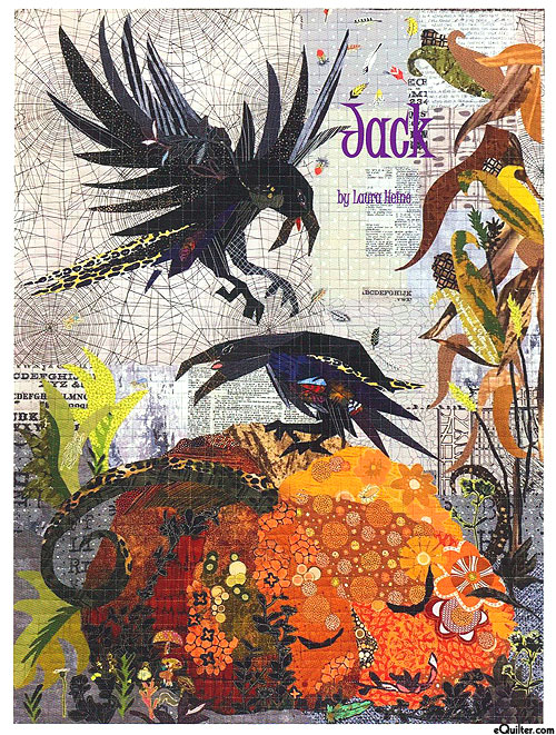 Jack - Fusible Collage Pattern by Laura Heine