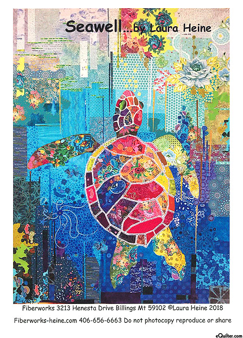 Seawell - Fusible Collage Pattern by Laura Heine