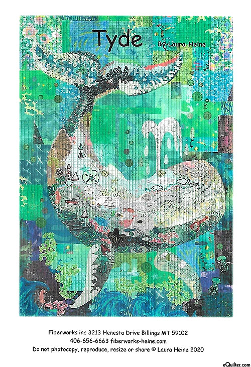 Tyde - Fusible Collage Pattern by Laura Heine