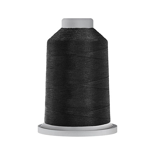 Glide Trilobal Polyester Thread - 40 Wt KING Spool - Black