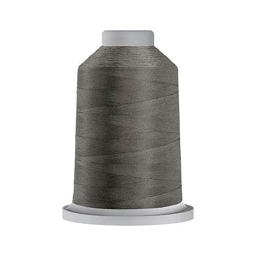Glide Trilobal Polyester Thread - 40 Wt KING Spool - Lead Gray