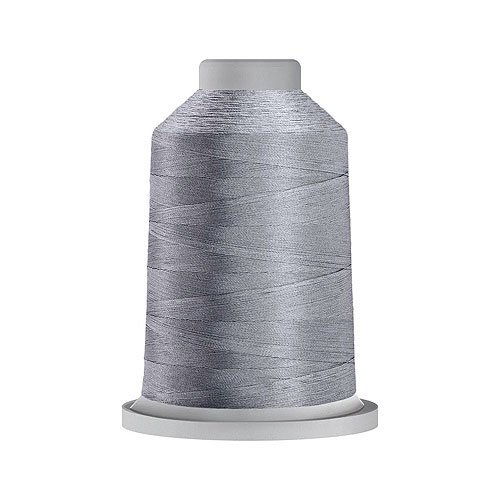 Glide Trilobal Polyester Thread - 40 Wt KING Spool - Silver