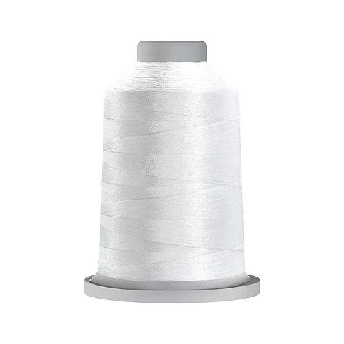 Glide Trilobal Polyester Thread - 40 Wt KING Spool - Super White