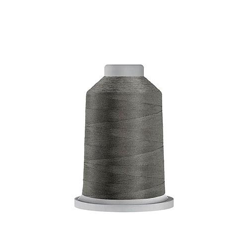 Glide Trilobal Polyester Thread - 40 Wt MINI Spool - Lead Gray