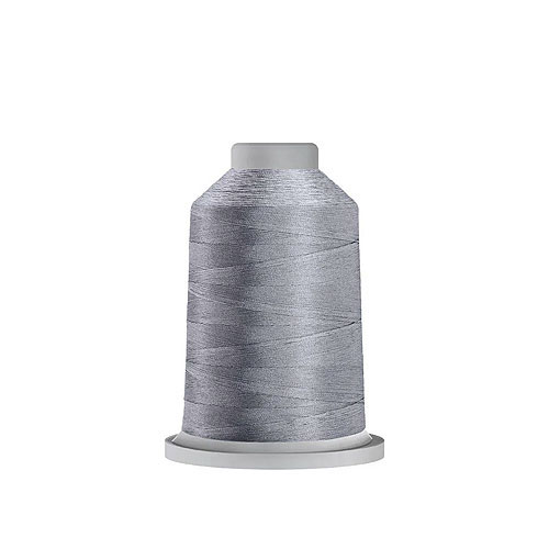 Glide Trilobal Polyester Thread - 40 Wt MINI Spool - Silver