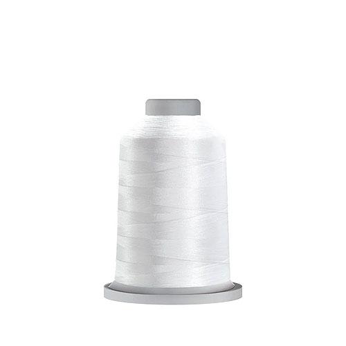 Glide Trilobal Polyester Thread - 40 Wt MINI Spool - Super White