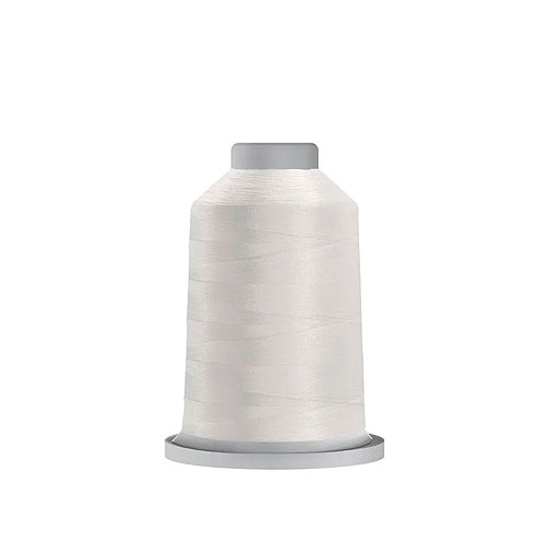 Glide Trilobal Polyester Thread - 40 Wt MINI Spool - White