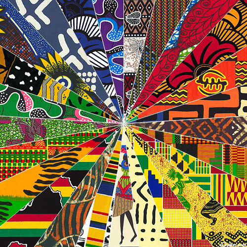 African Imported Prints - Fat Quarter Collection