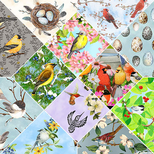 Birds FQ Collection