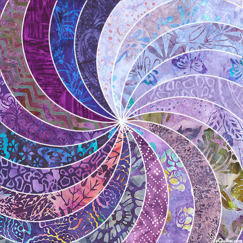 For the Love of PURPLE - Batik Packet