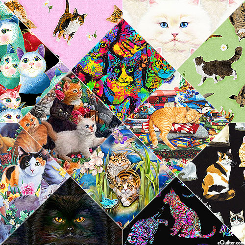 KITTIES By the Dozen - FQ Collection