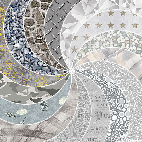 eQuilter COLOR PALETTE - Gorgeous GRAYS