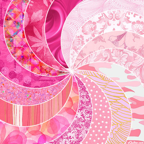 eQuilter COLOR PALETTE - Rosy PINKS