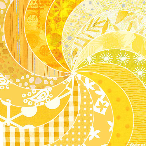 eQuilter COLOR PALETTE - Sunny YELLOWS