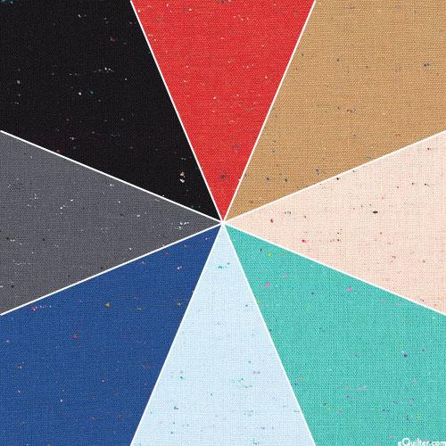Essex Speckle Yarn-Dyed Linen/Ctn - 8 Fat Quarters