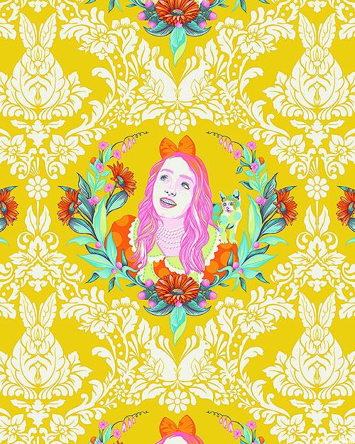 Curiouser & Curiouser - Alice - Honey Yellow