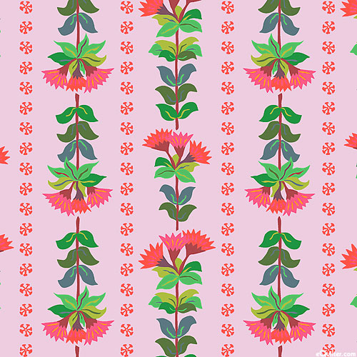 Earth Made Paradise - Wallpaper Stripe - Candy Pink