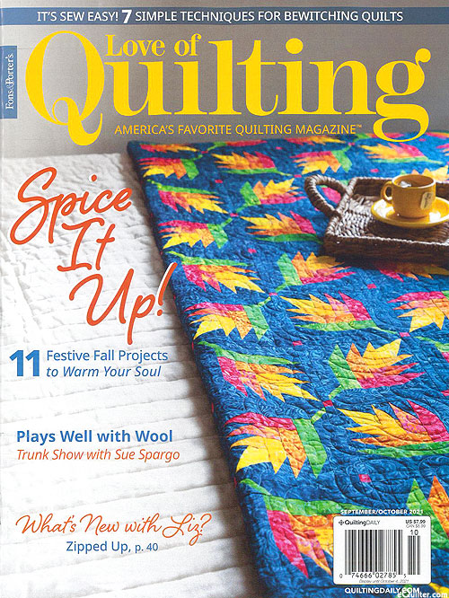 Fons & Porter's Love of Quilting Magazine - Sept/Oct 2021