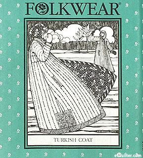 Turkish Coat pattern - by Folkwear