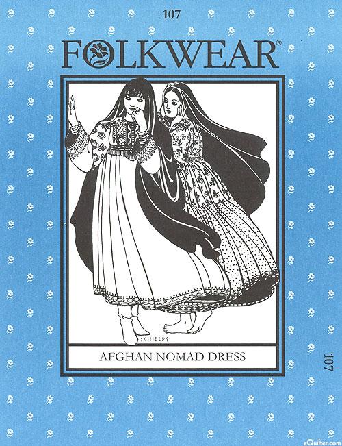 Afghan Nomad Dress - by Folkwear