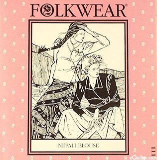 Nepali Blouse Pattern - by Folkwear