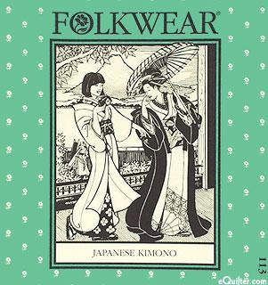 Japanese Kimono Pattern - by Folkwear