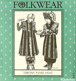 Tibetan Panel Coat - by Folkwear
