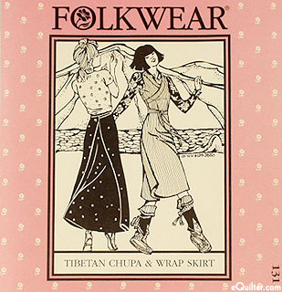 Tibetan Chupa & Wrap Skirt Pattern - by Folkwear