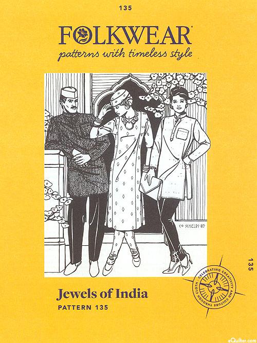 Jewels of India - Pattern by Folkwear