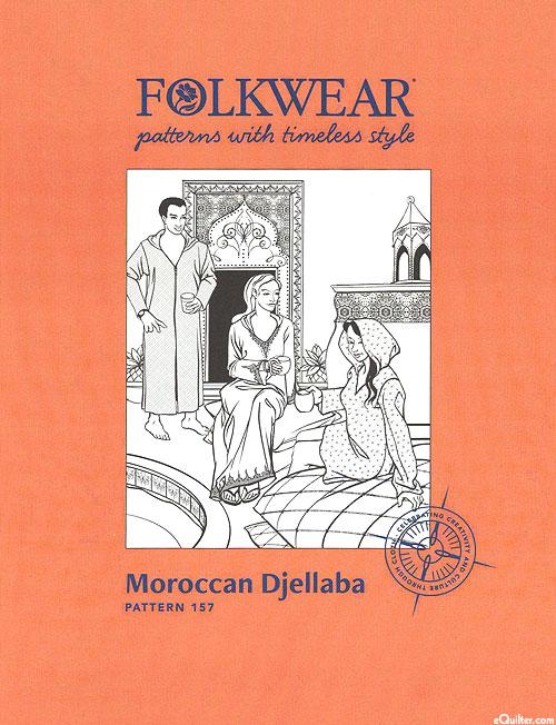 Moroccan Djellaba Pattern - by Folkwear