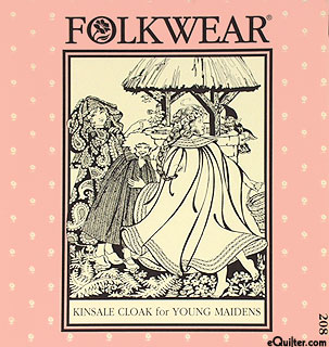 Kinsale Cloak for Young Maidens - by Folkwear