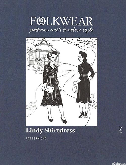 Lindy Shirtdress Pattern - by Folkwear