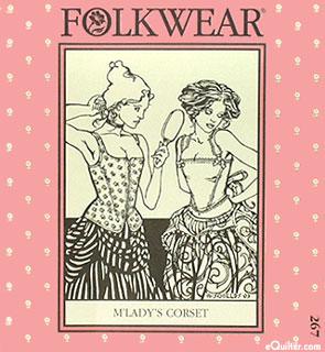 M'Lady's Corset Pattern - by Folkwear