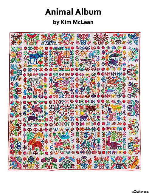 Animal Album - Applique Quilt Pattern by Kim McLean