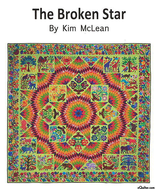 The Broken Star - Applique Quilt Pattern by Kim McLean