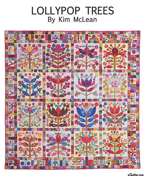 Lollypop Trees - Applique Quilt Pattern by Kim McLean