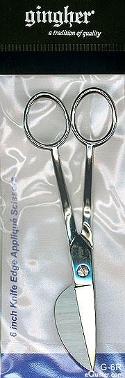 Gingher 6 Inch Knife Edge Appliqué Scissors