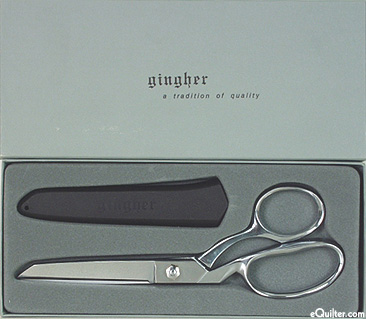 """Gingher 8"""" Bent Shears - LEFT Hand"""
