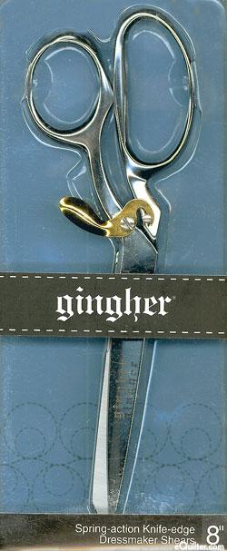 "Gingher 8"" Dressmaker's Shears - Spring-Action Handles"