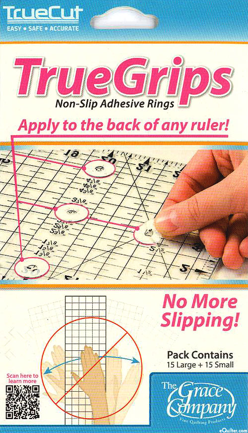 True Grips - Non-Slip Adhesive Rings & Dots