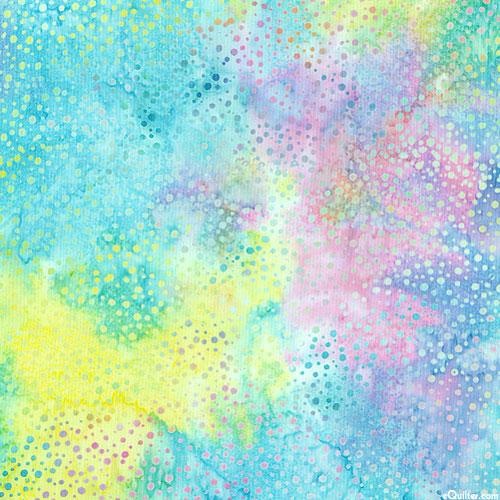 Atmospheric Dot Batik - Pastel