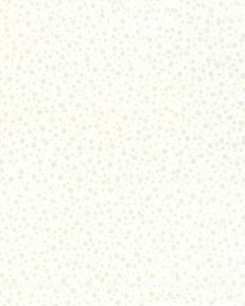 Atmospheric Dot Batik - Winter White