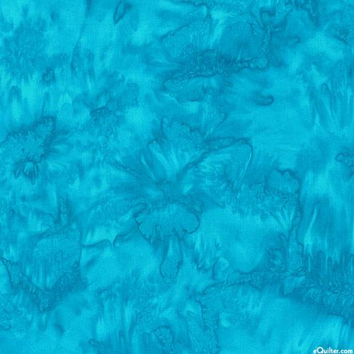 Turquoise - Hoffman Tonal Hand-Dye - Lagoon Blue