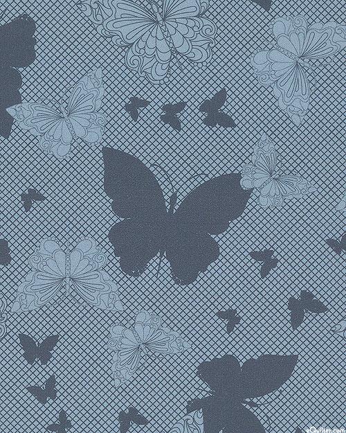Paradigm Shift - Butterflies & Shadows - Dusk Blue